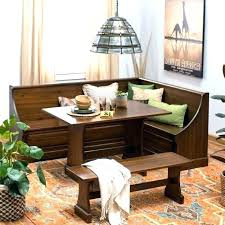 Corner Breakfast Nook With Storage L Shaped Bench Seat Dining Room Table Medium Size Of
