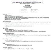 College Application Resume Samples Scholarship Examples Freshman