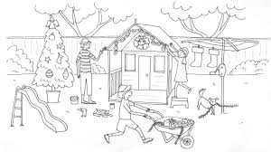 Christmas In Australia Coloring Pages