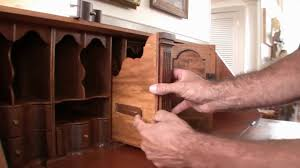Ethan Allen Cherry Secretary Desk by Furniture By John Friel 19th Century Secretary Desk Youtube