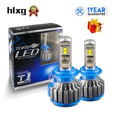 aliexpress buy hlxg 2pcs auto headl h7 canbus led bulbs
