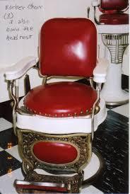 koch barber chairs 1909 national cash register towel steamer