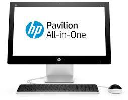 achat ordinateur de bureau hp aio pavilion 23 q106nf p1j58ea abf achat ordinateur de bureau