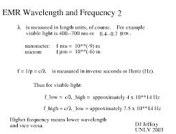 light 004 wavelength