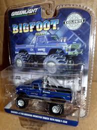 Greenlight Bigfoot The Original Monster Truck 1974 Ford F-250 Blue ...