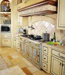 French Country Kitchen Stove