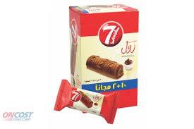 7 DAYS SWISS ROLL CHOCOLATE 20G