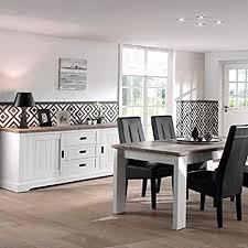 esszimmer weiß und farbe holz modern ethan tisch 190