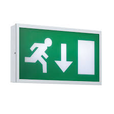 energy saving and rgb led lighting emergency exit luminaire