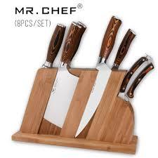 coutellerie cuisine 8 pcs ensemble professionnel chef couteaux de cuisine de qualité