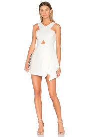 bcbgmaxazria qyun dress in off white revolve