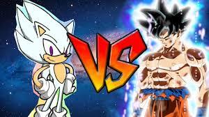 Ultra Hyper Sonic Vs Instinct Goku