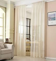 gardinen transparent günstig kaufen ebay