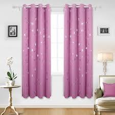 rosa vorhang als schöne deko und zur verdunkelung der rosa