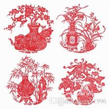 Exquisite Computer Hollow Out Paper Capa Citor Arts And Crafts Pressure Sensitive Adhesive Cut Cuts For Window Decoration Room Design