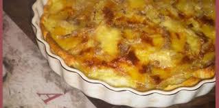 cuisiner le mont d or tarte aux pommes de terre et au mont d or facile recette sur