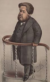 Caricature Of Spurgeon From Vanity Fair 1870