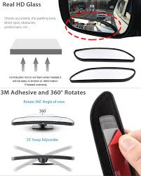 2 X Car Truck Convex Blind Spot Mirror Towing Reversing Driving Self ... Vehicle Blind Spot Assistance Stock Image Of Blind Angle Spots How To Check Them While Driving Aceable 2 X 3 Inch Rear View Mirrors Rearview Wide Angle Round Best Truck Curtains Decoration Ideas Drapes Mirror Pcs Black Fanshaped Auxiliary Arc Car Side 360 Adjustable Fits And Insights Wainwright Insight Wise Eye Blind Spot Truck Mirror Back Up Light Trouble Spot Unsafe Practices Saaq Right Position Trucklite 97619 5 Convex