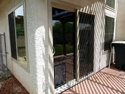 Doggie Door Insert For Patio Door by Pet Patio Door Replacement Energy Efficient Sliding Glass Pet Door