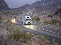 100 Self Moving Trucks Watch Ubers Driving Freight Across Arizona