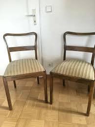 2x oma s alte stühle esszimmer stuhl 30er 40er 50er jahre vintage