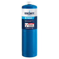 Bernzomatic 14 1 oz Propane Gas Cylinder The Home Depot