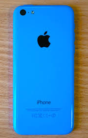 File iPhone 5c blue back Wikimedia mons
