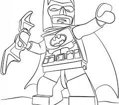Lego Superhero Coloring Pages Batman Page Free Printable