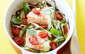 comment cuisiner les courgettes au four saumon au four tomates cerise et courgette envie de plus belge