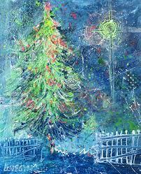 Ge Fraser Fir Christmas Tree by Leoma Lovegrove U0027s Everyday Art Adventure December 2016