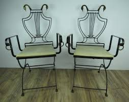 1930s Vintage Samuel Copelon Neoclassical Iron And Brass Swan Folding  Chairs - A Pair Vintage Folding Chair Folding Chairs Yellow Metal C1960 Silver Vintage Wood Chair Pair Louis Rastter Sons Chairs Antique By Venesta In Ig6 Redbridge Second Hand Mid Century A Pair Sold Of 1950s Cosco Reupholstered 2 Fifties Foldable Sarah Coleman On Instagram Mini Lv Are All