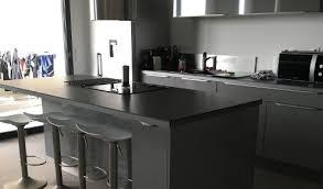cuisine gris et noir cuisine noir et grise wekillodors com laqu e avec photo