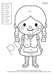 Get This Set Of 10 FREE Color By Number Addition Worksheets They Feature Ten Adorable
