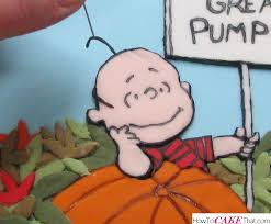 Linus Great Pumpkin Image by Welcome Great Pumpkin Cake How To Cake That