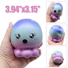 Slow Rising Toy Doll Jellyfish Cute Cartoon Animal Squeeze Toys