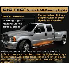 Recon Big Rig Amber LED Running Light Bars 26414   EBay Dodge Heavy Duty Cab Roof Light Truck Car Parts 264146bks 2835smd 48 Fxible Tailgate Side Bar Amberwhite Led Strip Amazoncom Recon 26414x Running Automotive 12 Offroad 54w 3765 Lumens Super Bright Leds Ijdmtoy 5pcs Black Smoked Top Marker Lamps With Testing Chromed Lego Bricks With For Making Top Ligh Flickr 5pcs Amber Lights For Jeep Suv Gmc Us Sales Surge 29 Percent In January Partsam Board Lighting Kit 120 Mengs 1pair 05w Waterproof 6x 2835 Smd