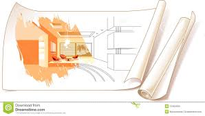 Interior Design Clipart Source Pencil And In Color