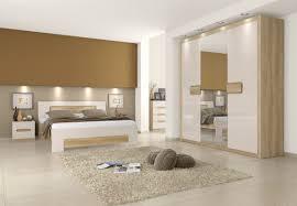 schlafzimmer komplett set a satalo 5 teilig farbe eiche braun creme hochglanz