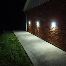 vista solar lights for stair entrance walkways car parks by free
