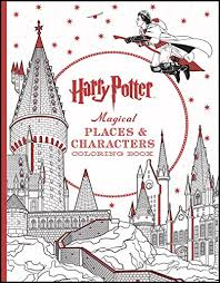 Harry Potter Magical Places Amp Characters Coloring Book
