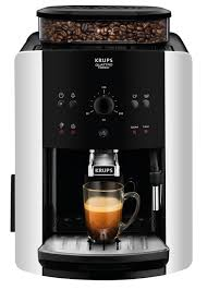 Arabica Manual EA811840 Espresso Bean To Cup Coffee Machine Silver