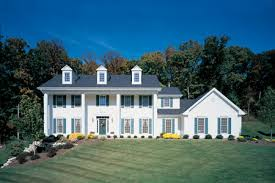 Colonial Homes by Colonial Home Exterior Hasso