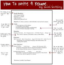 How To Write A Excellent Resume by 3 Tips To Writing A Resume How To Write A Qualifications