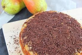 rezension birne schoko superkuchen 90 frucht 10 teig