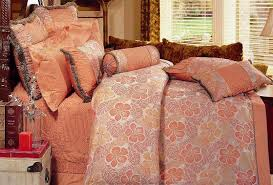 Coral Colored Bedding by Wallpapering Decorating My Bedroom Salmon Color Bed Bath Salmon