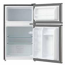 Norpole ENERGY STAR 3 4 cu ft 2 Door Mini Refrigerator