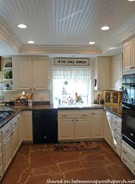 recessed led kitchen ceiling lights kitchen renovation with white