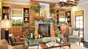 Southern Living Living Rooms by Rustic Christmas Decor Southern Living