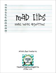 Halloween Mad Libs by Tales Of Teaching In Heels Mad Libs Nouns Verbs Adjectives Freebie