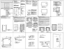 10 X 16 Shed Plans Gambrel by Shed Plans 10 16 Garden Shed Plans Building Your Own Garden